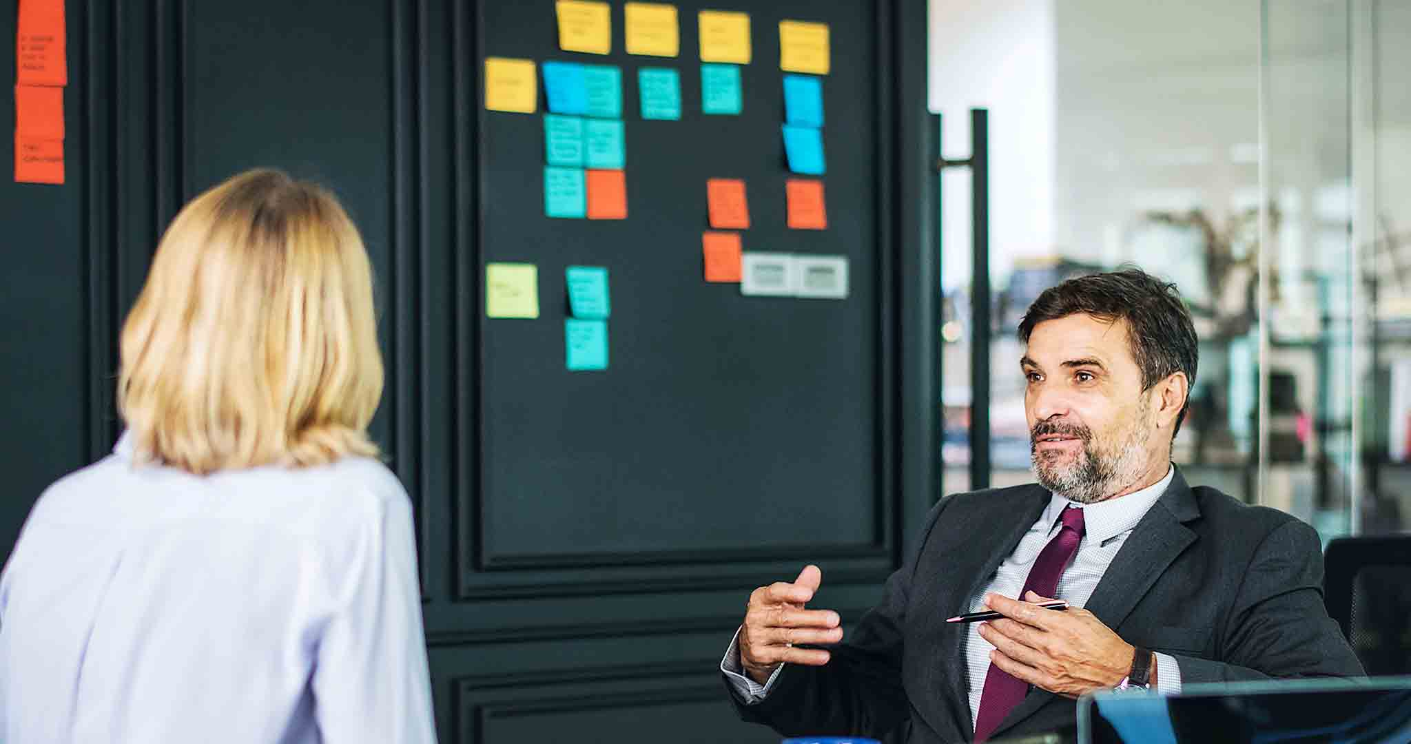 adult analyzing attentively meeting stock photos