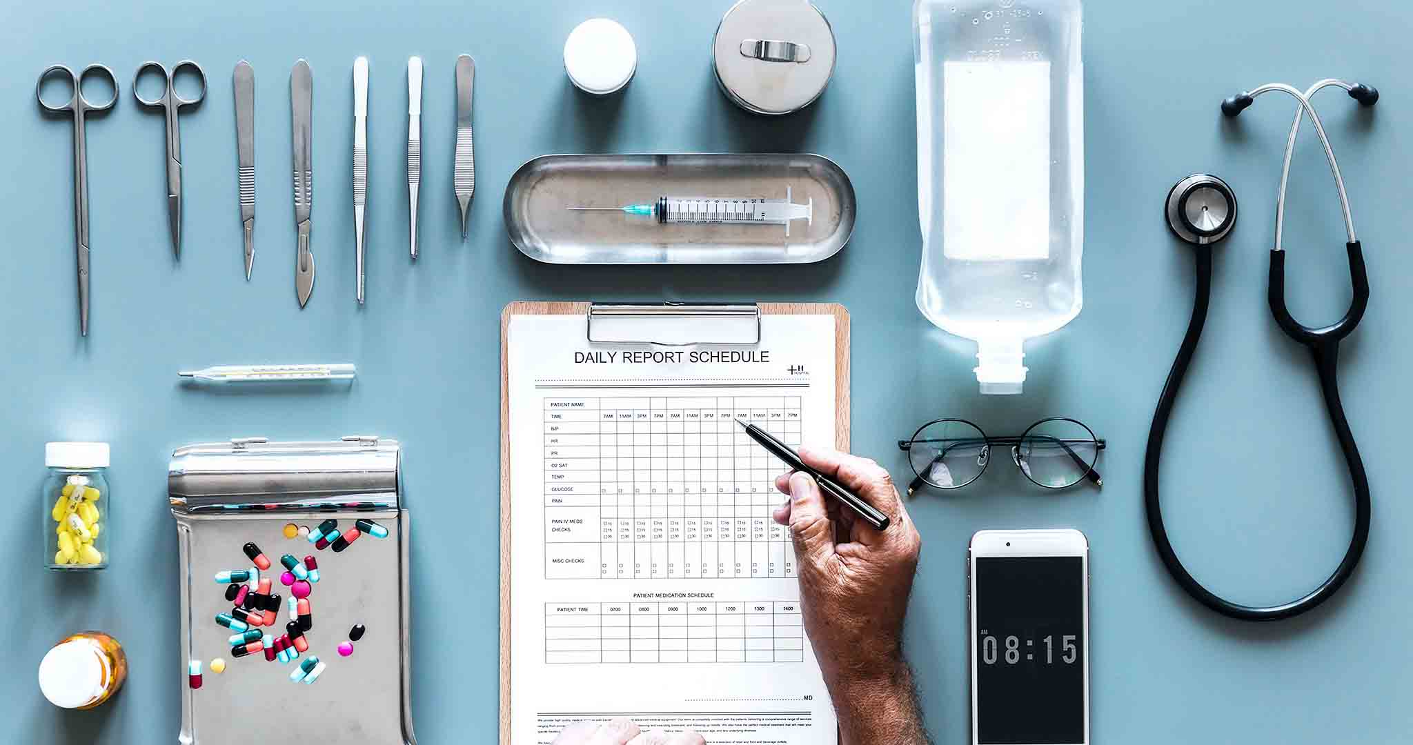 aerial aerial view care doctor stock photos