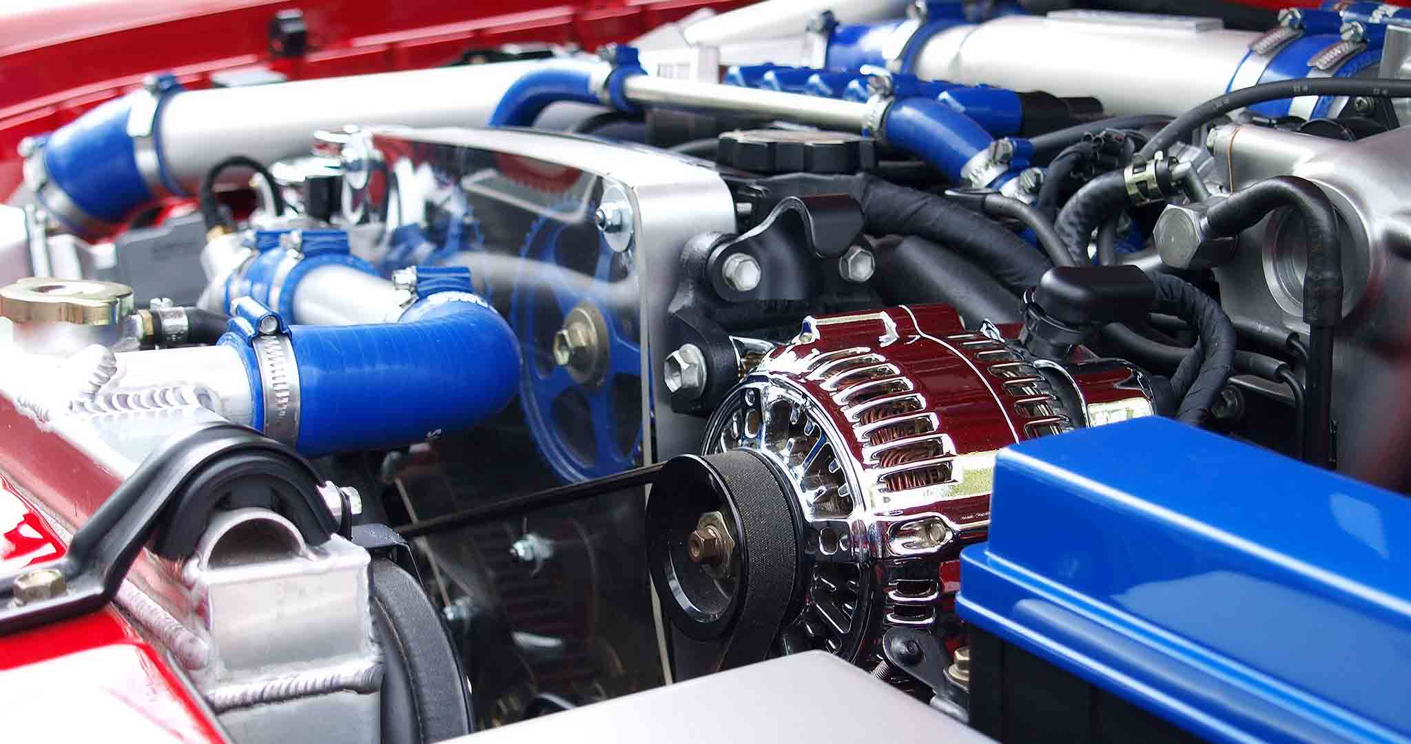 automobile automotive clean engine mechanical engineering stock photos