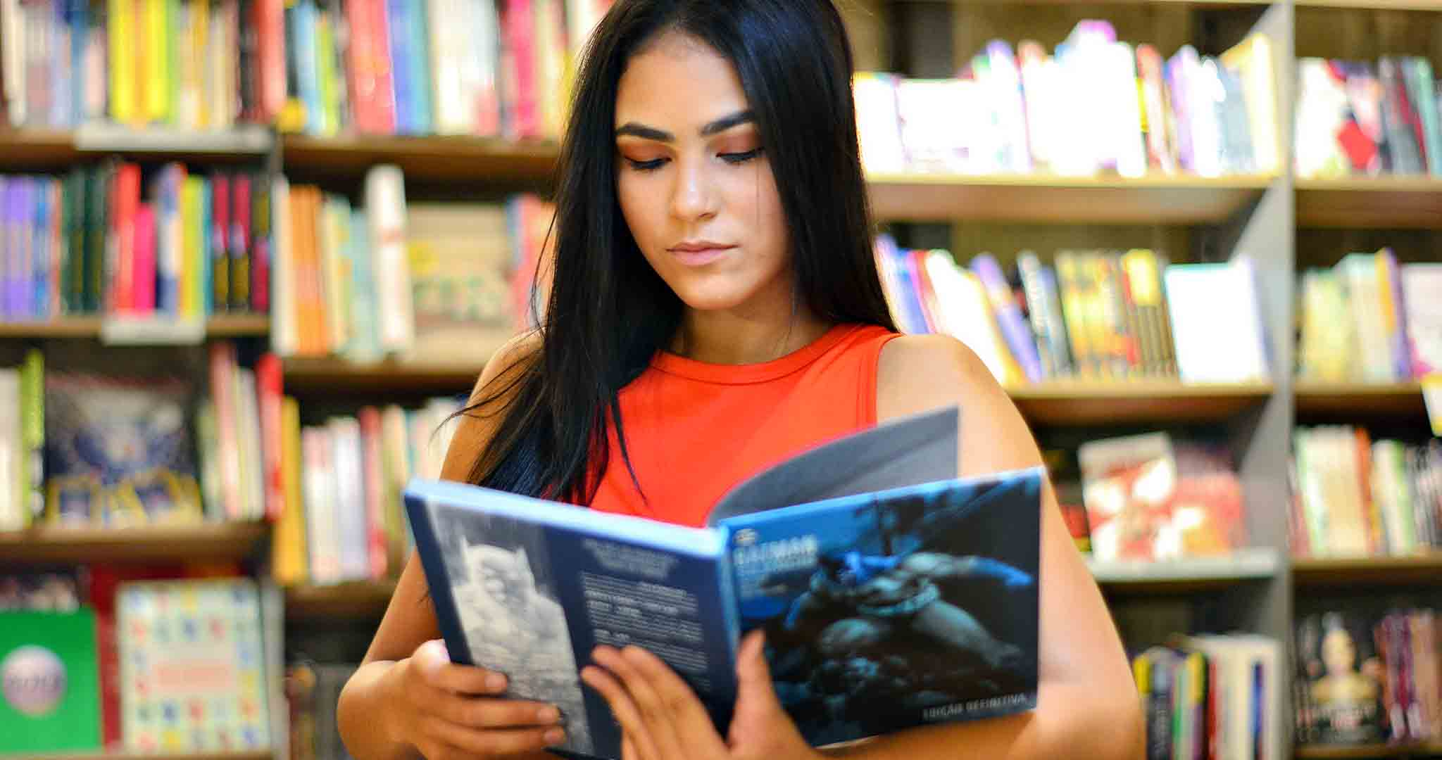 academic bookcase bookstore student college stock photography