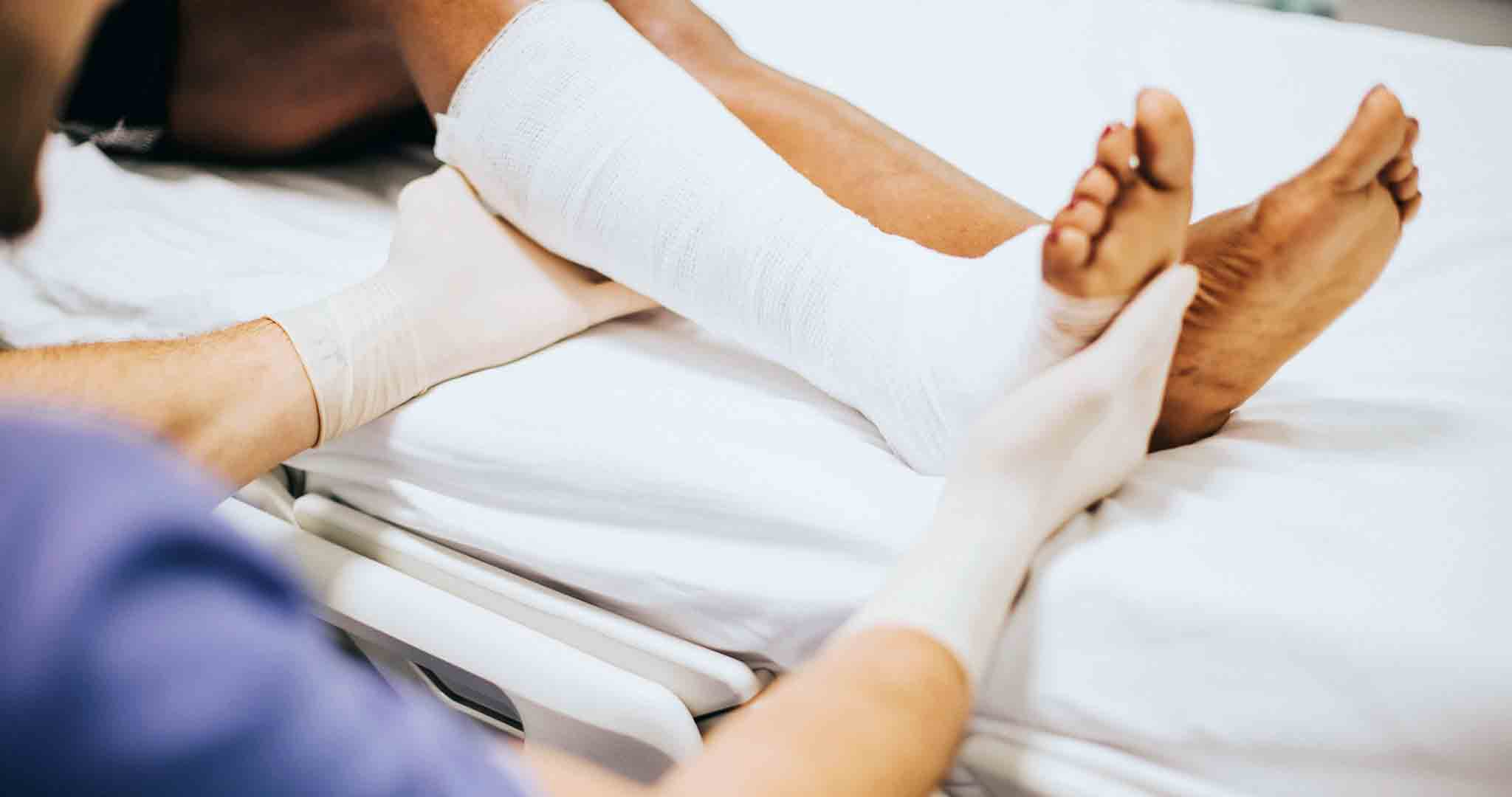 accident adult african nurse stock photography