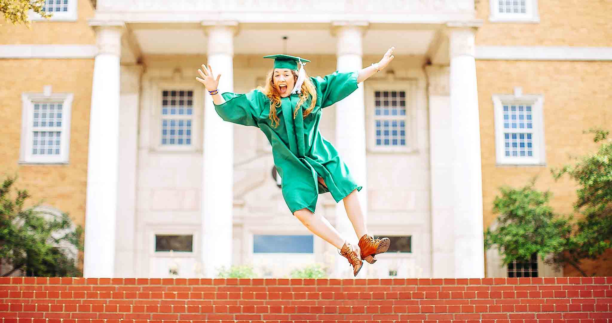 action energy active adult graduation stock photography