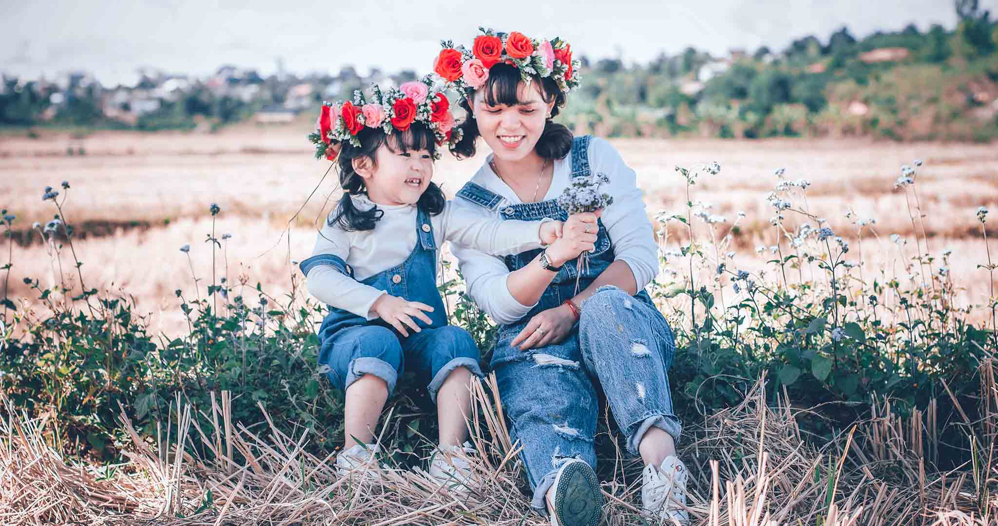 adult child daughter lifestyle stock photography 002