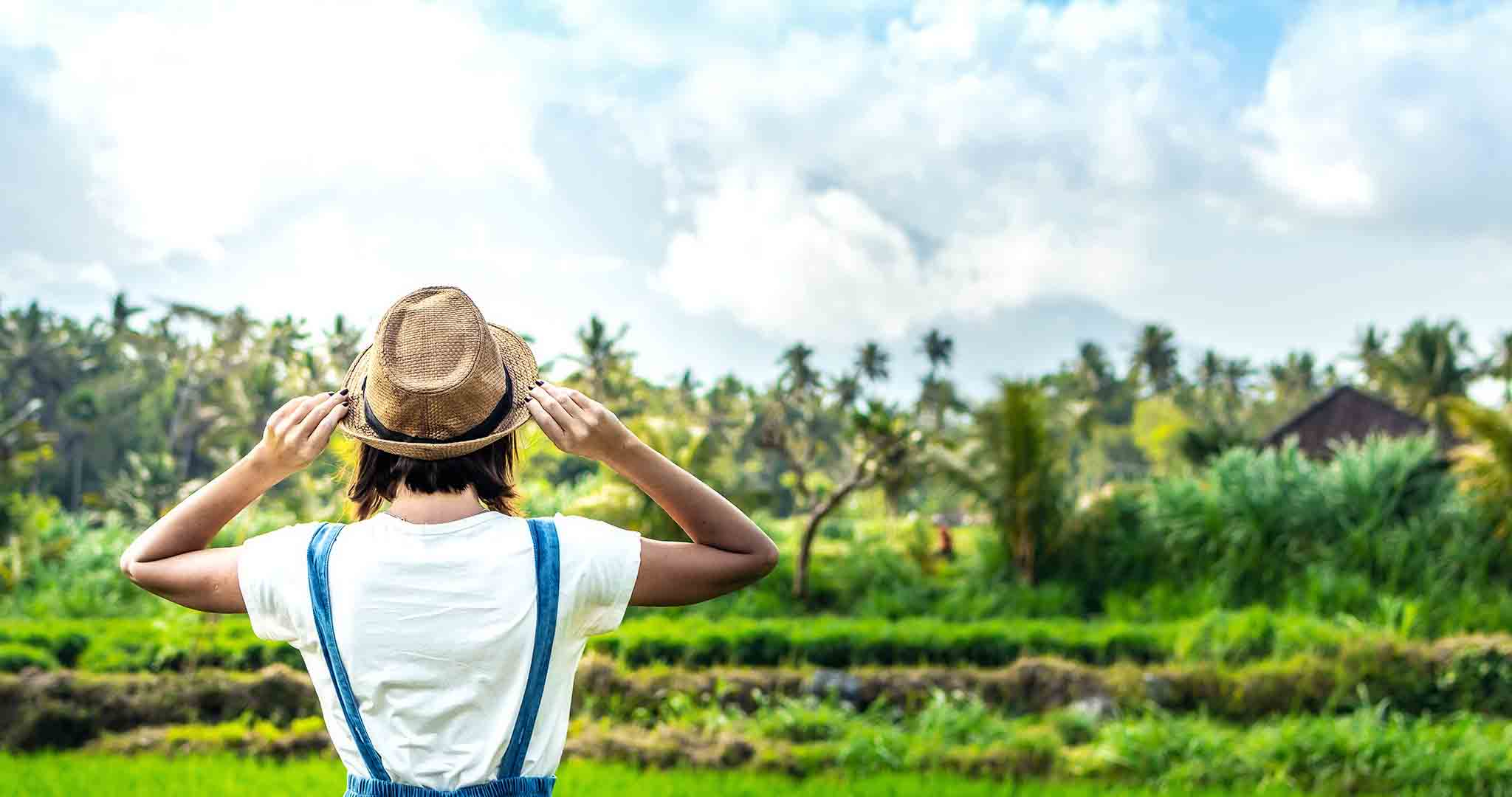 adventure back view background lifestyle stock photography