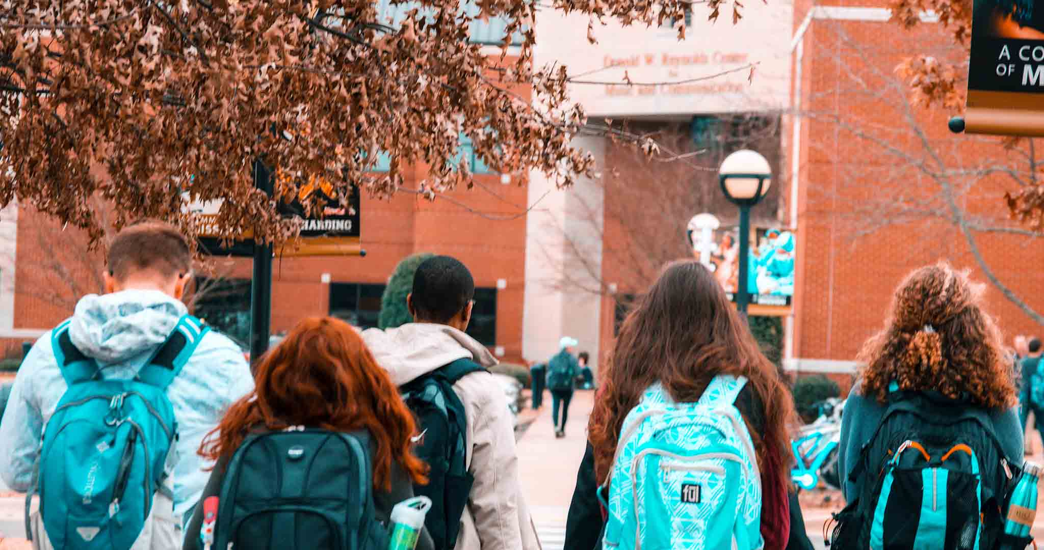 backpacks college college students student college stock photography