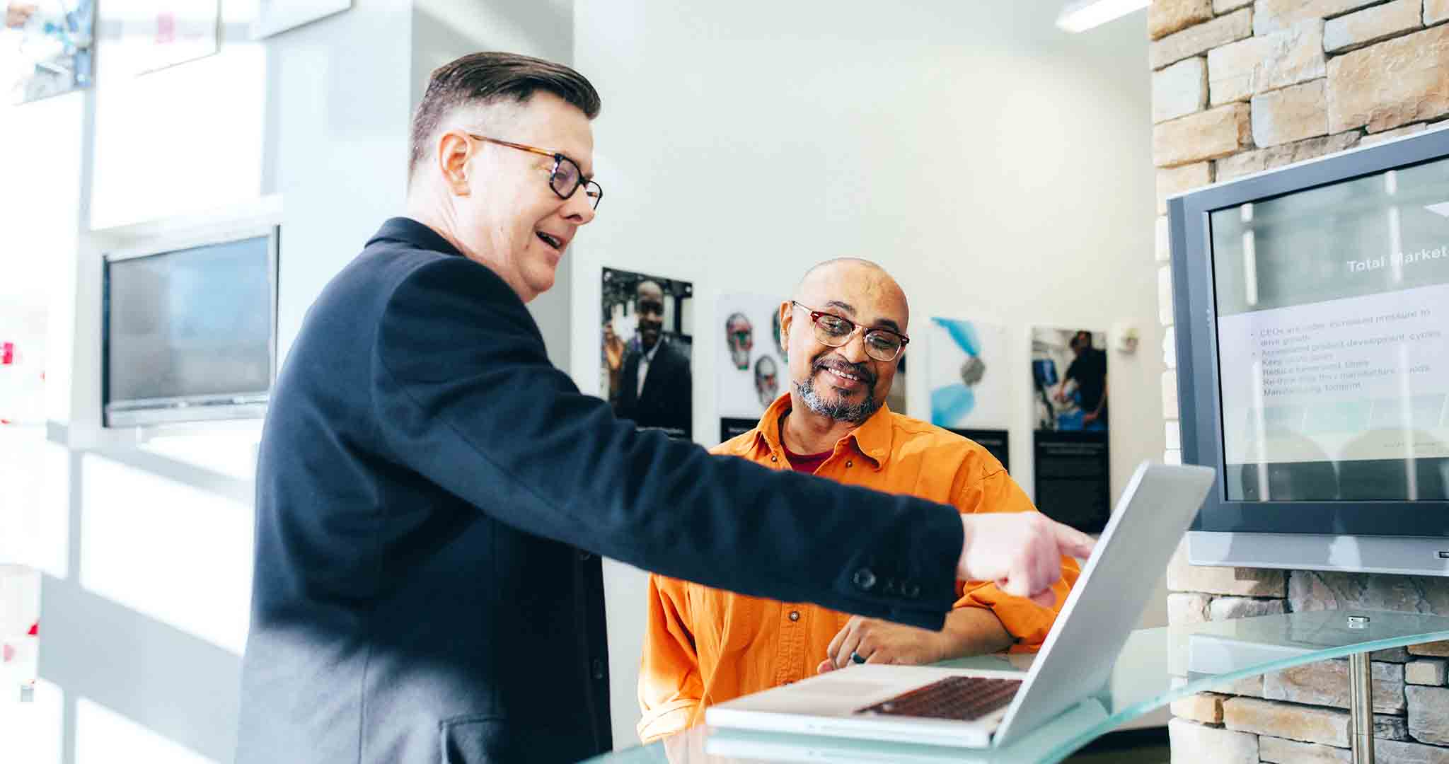 business businessmen discussion teaching stock photography
