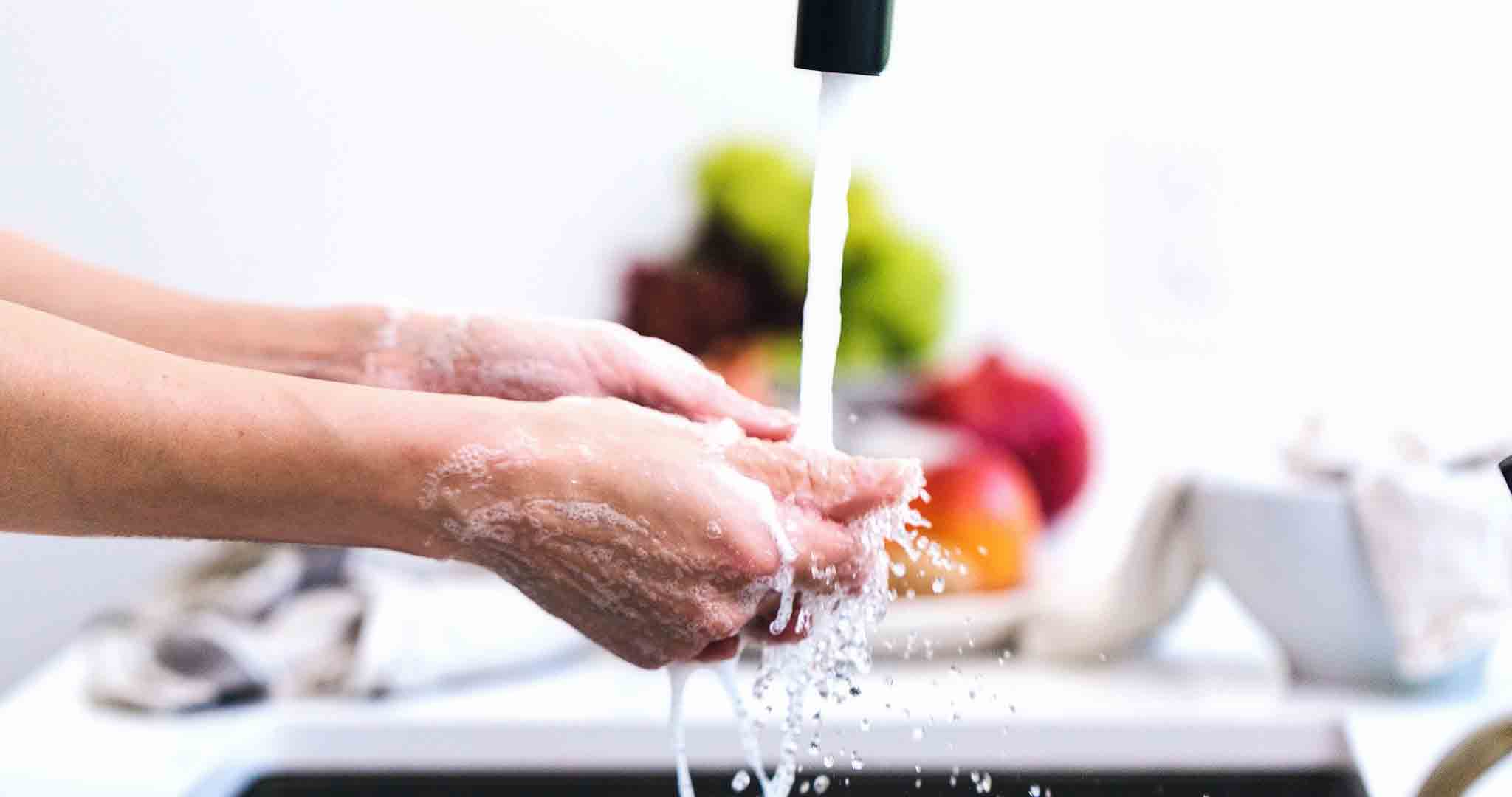 cleaning hands handwashing health stock photography