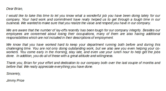 How to Write a Letter of Appreciation for Job Well Done