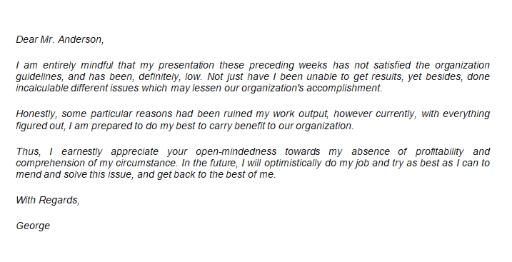 Apology Letter to Manager to Express Your Regret and Professionalism